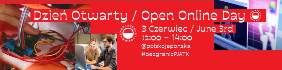 Open Day - Online June, 3rd
